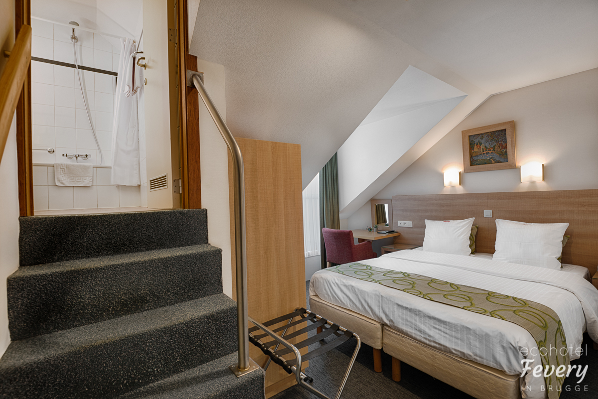 Hotel Fevery Bruges attic room with balcony S