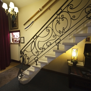 Hotel Fevery Bruges staircase